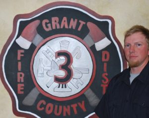 Firefighter Mickey Sargent